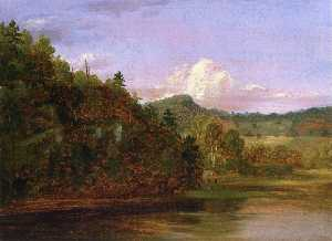 Landscape (also known as American Lake in Summer)