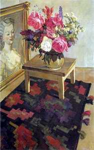 Flowers on the carpet