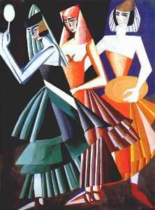 conception de costumes pour Danse des sept voiles