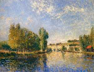 The Loing at Moret