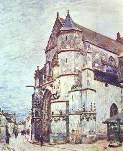 Church at Moret after the Rain