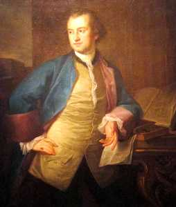A portrait of John Morgan
