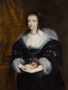 Portrait of Queen Henrietta Maria