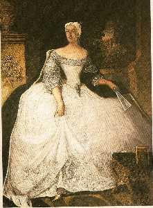Portrait of Teofila Dzia?y?ska