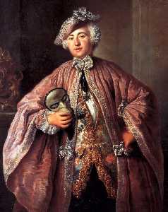 Portrait of Isaak Franz Egmont von Chasot