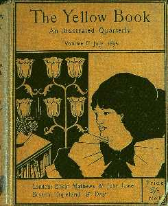 The cover of The Yellow Book