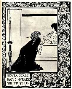 How La Beale Isoud Nursed Sir Tristram