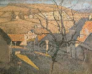 Large Landscape with a Tree