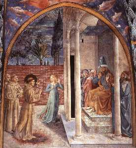Death and Ascention of St. Francis