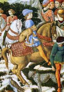 Procession of the Magus Caspar (detail)