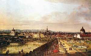 The Belvedere from Gesehen, Vienna