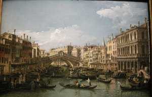 Grand canal, view from north