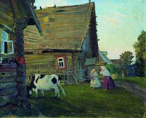 The hut. Kostroma Province