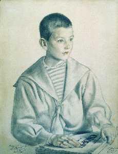 Portrait of Mitya Shostakovich