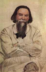 Portrait of P.N. Sakulin