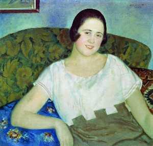 Portrait of I. Ivanova