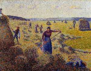 The Harvest of Hay in Eragny