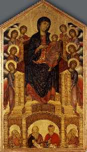Madonna and Child Enthroned (Maesta)