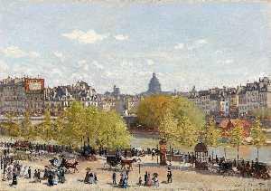 Wharf of Louvre, Paris