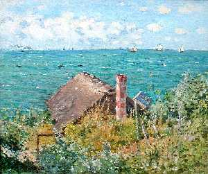 The Cabin at Saint-Adresse