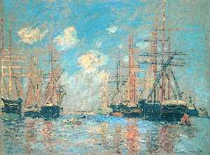 The Sea, Port in Amsterdam