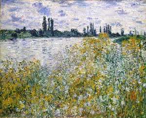Isle of Flowers on Siene near Vetheuil