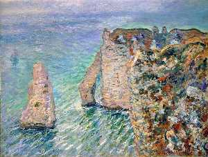 The Rock Needle and the Porte d'Aval