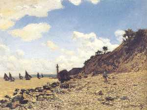 The Beach at Honfleux