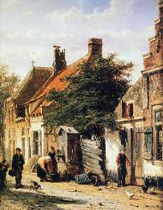 Walstraatje in Harderwijk