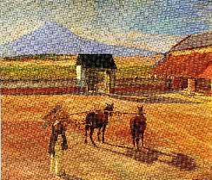 La Era (The Threshing Floor) 1904 (oil on canvas)