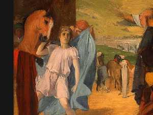 Alexander and Bucephalus (detail)