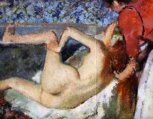 The Bath (Woman from Behind)