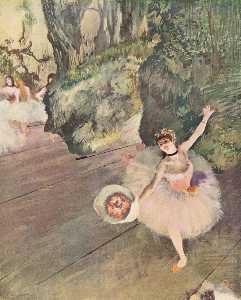 ダンサー と一緒に a 花束 の 花 ( ザー 星 の バレエ )
