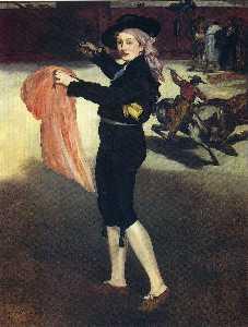 Victorine Meurent in der Tracht eines Espada