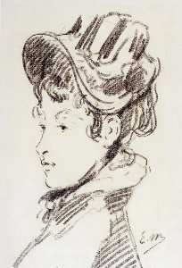 Portrait of madame Julles Guillemet
