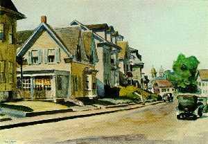 sun auf prospect street ( Gloucester , Usa )
