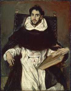 Portrait of Fray Hortensio Felix Paravicino