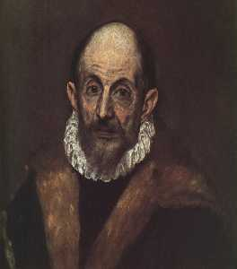 Portrait of an old man (presumed self-portrait of El Greco)