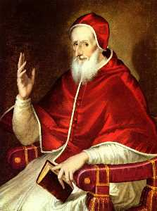 Portrait of Pope Pius V
