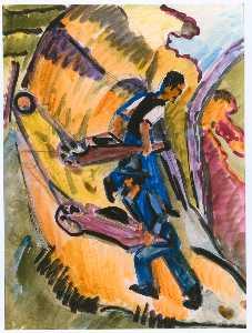 Men with Wheelbarrows