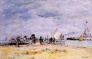 Deauville, the Jetty