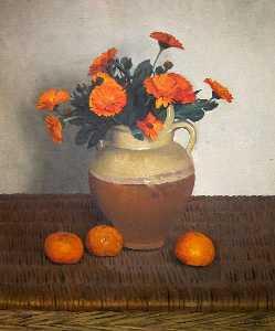 金盏花和柑橘
