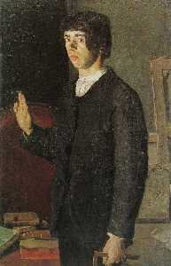 The student (Self-portrait)
