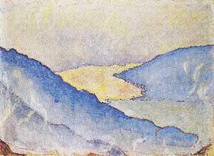 Озеро Тун из Лессигом