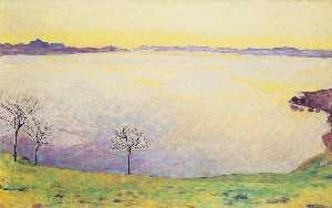 Lake Geneva in Chexbres