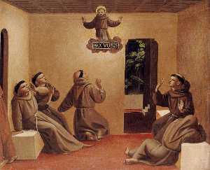 Apparition of St Francis at Arles