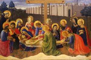 Lamentation over Christ