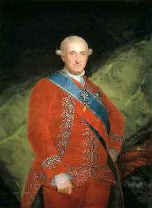 Portrait of Charle IV of Spain