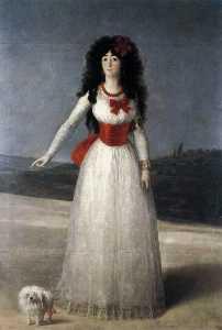 Duchess of Alba, The White Duchess