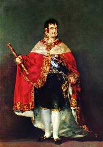 Portrait of Ferdinand VII